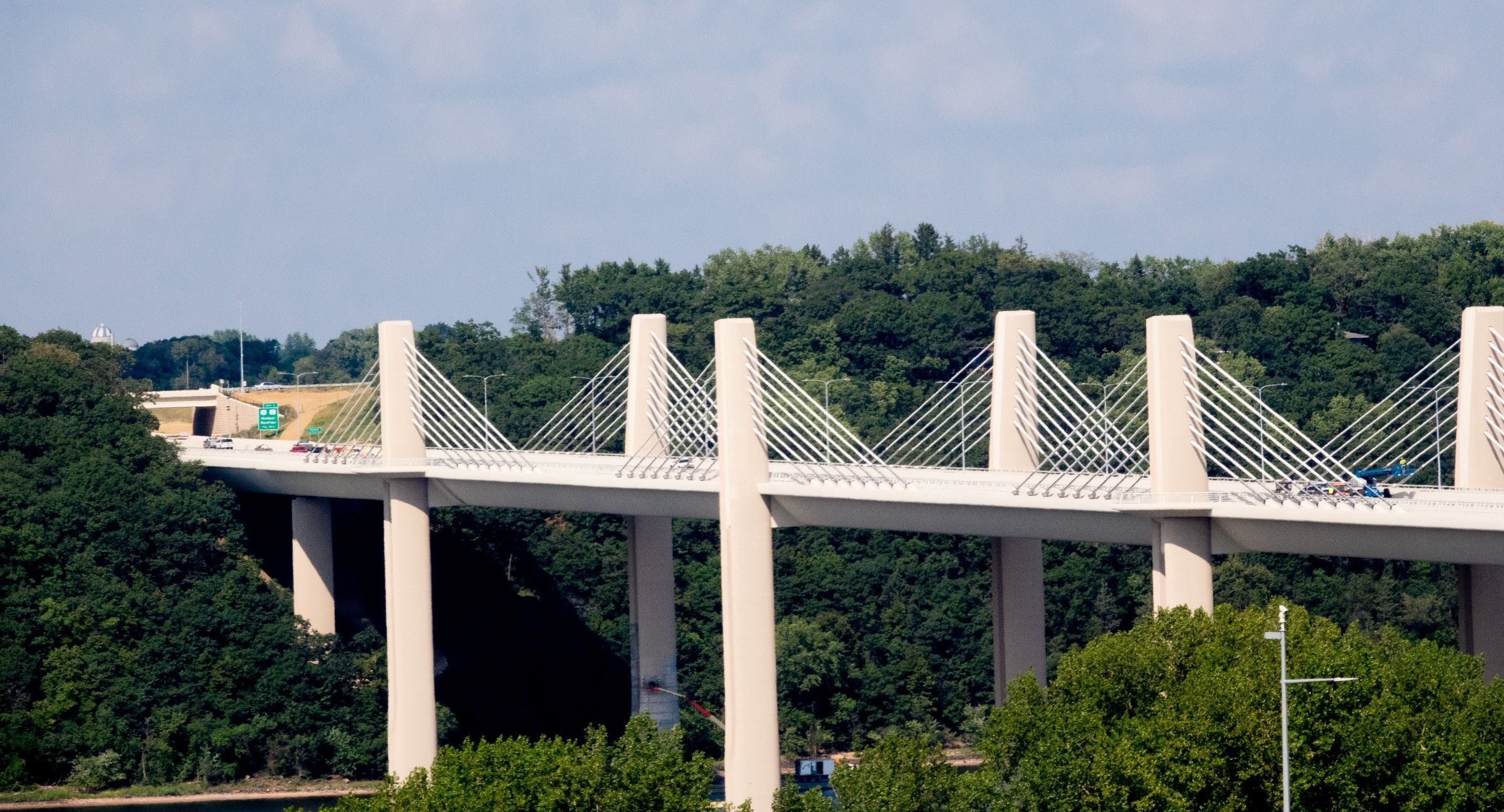 St Croix River Crossing Bridge