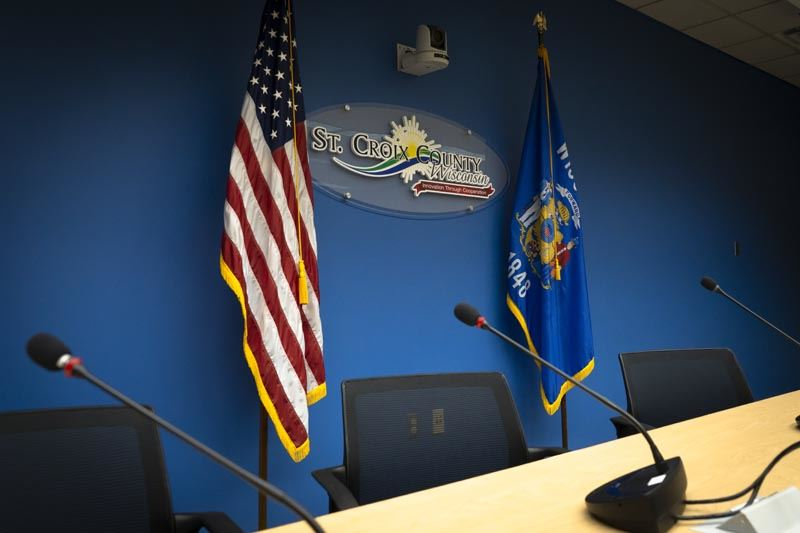 The St. Croix County Board Room